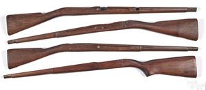 Four model 1903 stocks