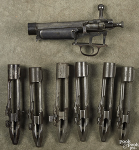 Six Springfield 1903 receivers