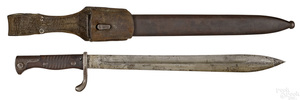 Mauser butchers block bayonet and scabbard
