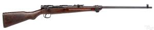 Sporterized Japanese Arisaka type 99 rifle
