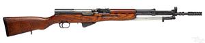 Yugoslavian model 59/66 SKS semi-automatic rifle