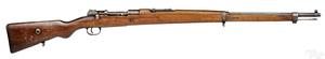 Turkish Mauser bolt action rifle