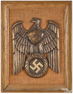 Carved Germany Nazi Party eagle