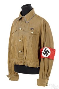 WWII Nazi Germany brownshirt tunic