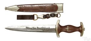 German Clemen & Jung WWII Nazi SA dress dagger