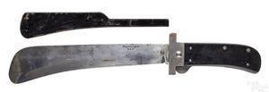 Cattaraugus WWII folding machete