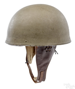 WWII British dispatch riders helmet