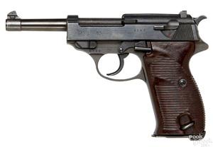 Mauser byf 44 P38 semi-automatic pistol