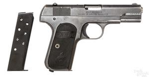Colt model 1903 hammerless pocket pistol