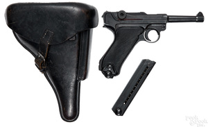 Luger byf Mauser Black Widow semi-automatic pistol