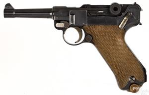 German DWM P08 commercial semi-automatic pistol