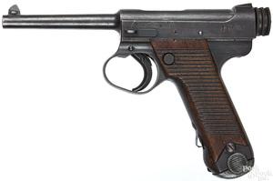 Japanese Nambu semi-automatic military pistol