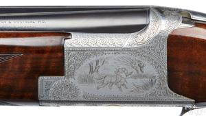 Belgian Browning double barrel shotgun