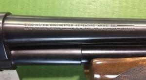Winchester model 42 pump action shotgun