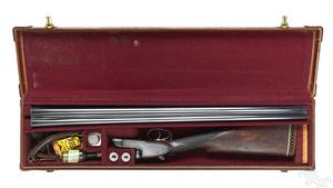 Holland & Holland double barrel shotgun