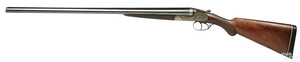 A. Francotte double barrel side by side shotgun