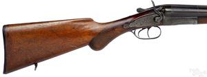 Bayard double barrel shotgun