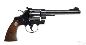 Colt Officers model Match double action revolver