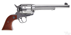 Ruger Vaquero single action stainless revolver