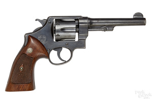 Smith & Wesson Argentine Contract double action 45 revolver
