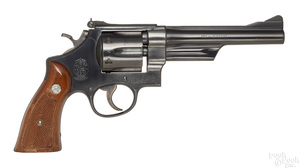 Smith & Wesson Highway Patrolman revolver