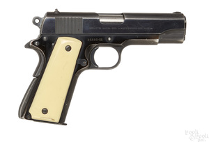 Colt Commander super 38 semi-automatic pistol