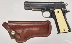 Colt Commander super 38 semi-automatic pistol