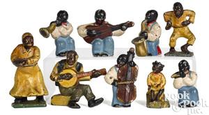 Hubley Black Americana dancer paperweights