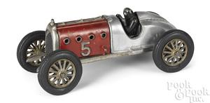 Hubley cast iron red devil racer
