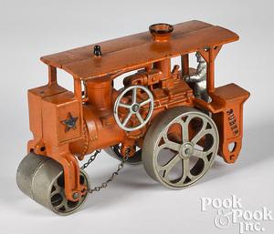 Hubley Huber cast iron road roller