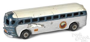 Arcade Greyhound Eastern Pacific System bus