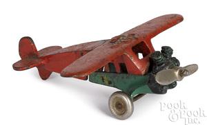 Vindex cast iron Fokker airplane