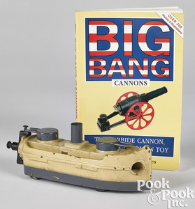 Big Bang cast iron carbide gun boat