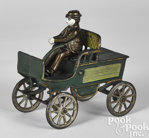 Ives cast iron horseless carriage
