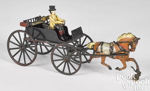 Pratt & Letchworth horse drawn surrey