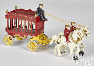 Kenton cast iron Overland Circus wagon