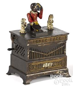 Kyser & Rex Organ Grinder mechanical bank