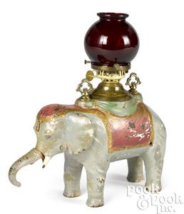 Elephant cigar lighter and cutter