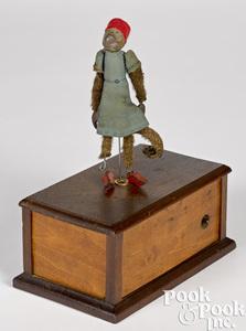 Ives Missing Link clockwork dancing monkey