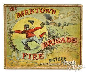Parker Brothers Darktown Fire Brigade puzzle