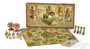 R. Bliss Game of the Wild West board game