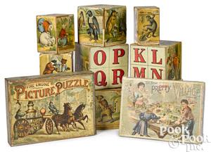 McLoughlin Bros. paper lithograph toys