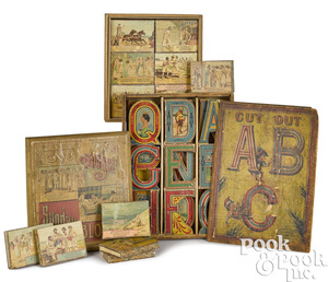 Whitney Reed & Co. Cut Out ABC paper blocks