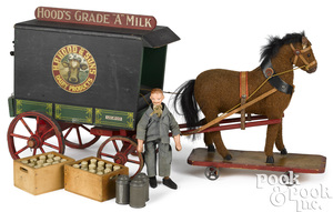 H. P. Hood & Sons Dairy Products milk wagon