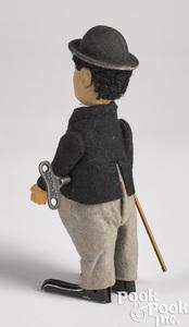 Schuco wind-up Charlie Chaplin figure