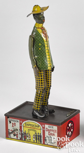 Marx Dapper Dan mechanical bank