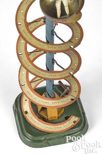 Fernand Martin tin lithograph Mystery Ball toy