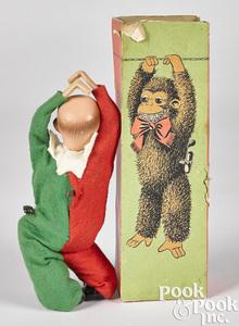 German clockwork climbing clown