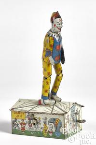 Strauss tin lithograph Dandy Jim the Clown Dancer