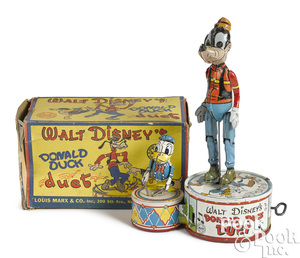 Marx tin wind-up Donald Duck Duet